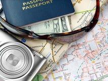 Aliste para viajar Imagen de archivo libre de regalías