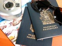 Aliste para viajar Imagenes de archivo