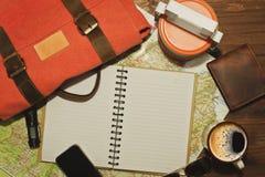 Aliste para viajar vida inmóvil Fotos de archivo libres de regalías