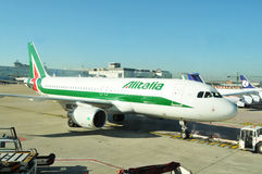Alitalia Royalty Free Stock Photo