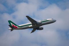 Alitalia Stock Image