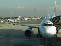 Alitalia airplanes Stock Images