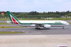 Alitalia Boeing 777 Stock Photos