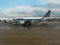 Alitalia md Royalty Free Stock Image