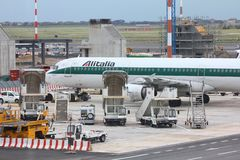 Alitalia Royalty Free Stock Photography