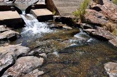 Aliviadero en Serpentine Falls Imágenes de archivo libres de regalías