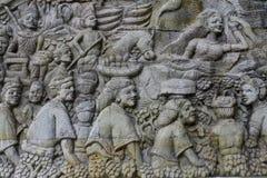 Alivio de la cultura de Lombok Foto de archivo libre de regalías