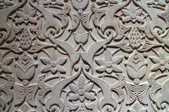 Alivio de la pared en el palacio de Monserrate, Sintra, Portugal Imagen de archivo