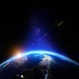 Alivio de la tierra del planeta Imágenes de archivo libres de regalías