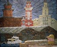 Alivio de las torres de Yokohama tres Fotografía de archivo