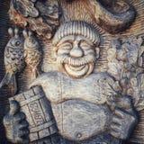 Alivio de madera Fotos de archivo libres de regalías