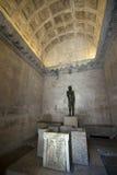 Alivio de rey croata Petar Kresimir IV y escultura de St John el Bautista Imagen de archivo libre de regalías