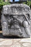 Alivio de un guerrero griego Foto de archivo libre de regalías