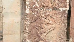Alivio del ángel de Apsara Imágenes de archivo libres de regalías