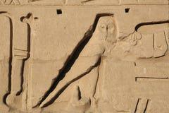 Alivio del templo de Karnak Imagen de archivo libre de regalías