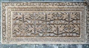 Alivio en el portal del norte, detalle de la fachada de la basílica del ` s de St Mark, Venecia Imagen de archivo libre de regalías