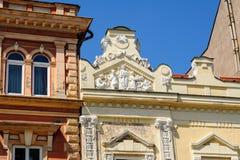 Alivio en la calle principal de 46 Hlavna en Kosice Imagen de archivo