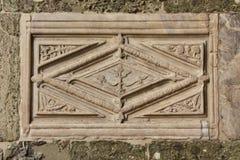 Alivio exótico en estilo bizantino Fotos de archivo