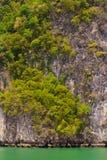 Alivios de la roca tailandeses Fotografía de archivo libre de regalías