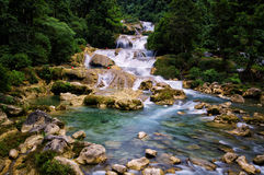 Aliwagwag瀑布 库存图片