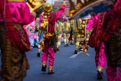 Aliwan Festival 2017, Pasay City, Philippines.  royalty free stock photo