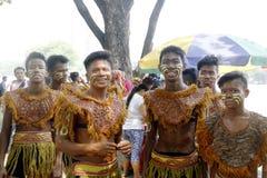 Aliwan Fiesta Manila Arkivbild