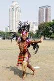 Aliwan fiesta Manila Fotografia Royalty Free