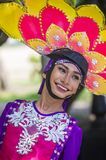 2018 Aliwan Fiesta. MANILA , PHILIPPINES - APRIL 27 :Participant in the Aliwan fiesta in Manila Philippines on April 27 2018. Aliwan Fiesta is an annual event Royalty Free Stock Photos