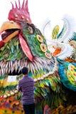 Aliwanfestival 2017, Pasay-Stad, Filippijnen stock foto's