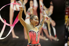 Aliya Garayeva RHYTHMIC GYMNASTIC Stock Photography