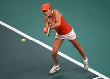 Alize CORNET (FRA) at Open GDF Suez 2010 Stock Photo
