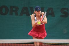 Alize Cornet - Sparta Prague Open Royalty Free Stock Photo
