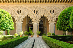 Aljafería Palace, Saragossa, Spain Stock Images