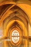 Aljaferia ένα από τα καλύτερα συντηρημένα μαυριτανικά παλάτια στην πόλη Sara Στοκ εικόνες με δικαίωμα ελεύθερης χρήσης