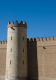 Aljaferia. Palace built in Zaragoza in the 11th century Royalty Free Stock Photos