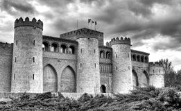 Aljaferia castle Stock Image