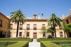 Aljaferia eins der besten konservierten maurischen Paläste in der Stadt Sara Stockfotografie