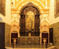 Aljaferia eins der besten konservierten maurischen Paläste in der Stadt Sara Stockbilder