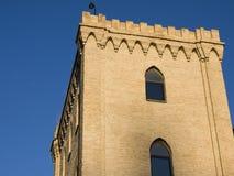 Aljaferia, old castle in zaragoza Royalty Free Stock Image