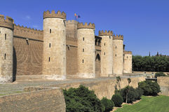 The Aljaferia palace, 11th century, Zaragoza Royalty Free Stock Photography