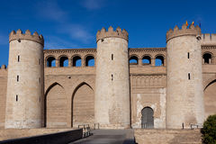 Aljaferia palace Royalty Free Stock Images