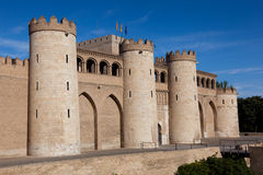 Aljaferia palace Stock Photos
