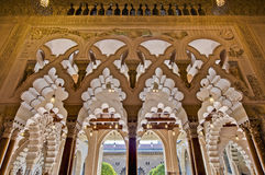 Aljaferia Palace at Zaragoza, Spain Royalty Free Stock Images