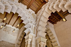 Aljaferia Palace at Zaragoza, Spain Royalty Free Stock Photos