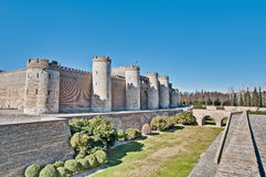 Aljaferia Palace at Zaragoza, Spain Stock Photo