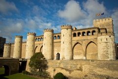 Aljaferia Palace in Zaragoza, Spain Stock Photo