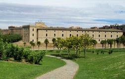 Aljaferia Palace in Zaragoza, Spain Stock Photo