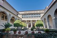 Aljaferia Palace at Zaragoza, Spain Stock Image
