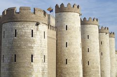 Aljaferia Royalty Free Stock Images