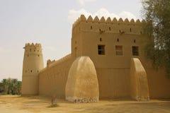 AlJahili Fort Arkivfoto